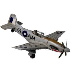 Mustang Plane with Shark Teeth  50cm $69