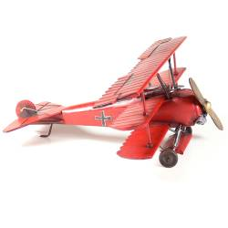 Red Baron Classic triple winged German fighter plane $69.